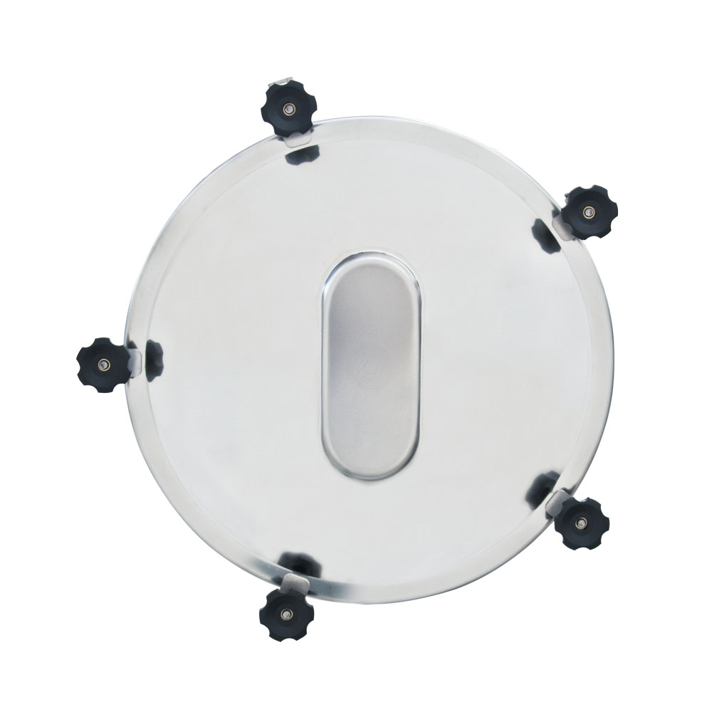 Stainless steel tank accessories manhole cover diameter