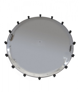 Stainless steel tank accessories manhole cover diameter 1400  sc 1 st  Algor srl & Stainless steel tank accessories vertical door